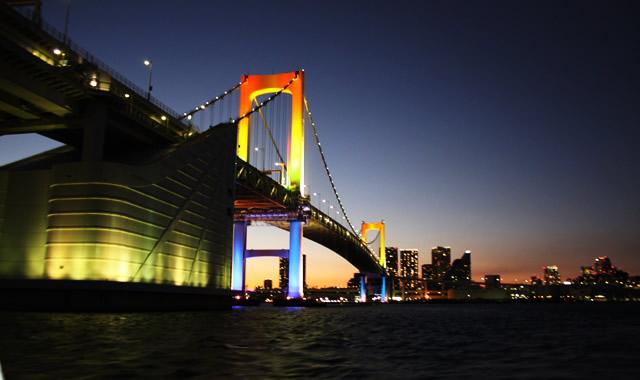 東京港夜景観賞ツアー