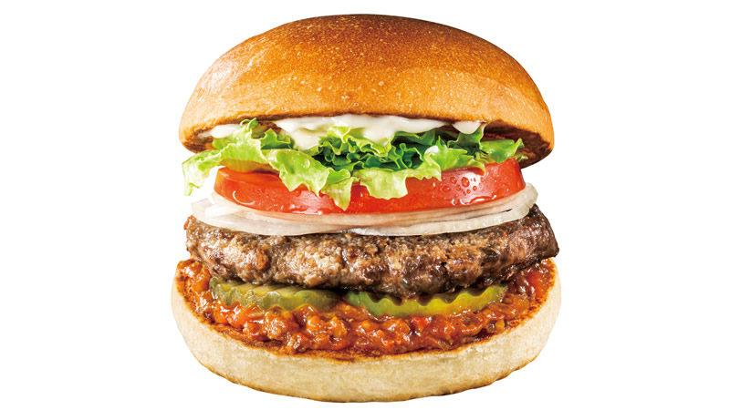 ロッテリアジビエ 鹿肉バーガー