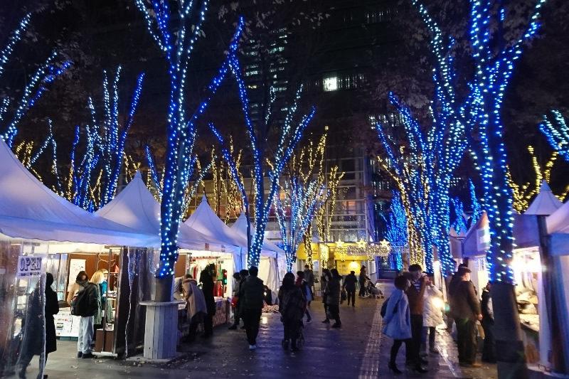 たまアリタウン クリスマスマーケット