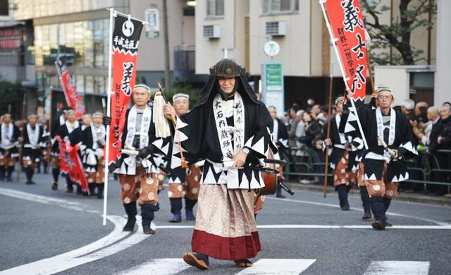 泉岳寺 赤穂義士祭