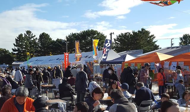横浜柴漁港 秋のさかなフェア
