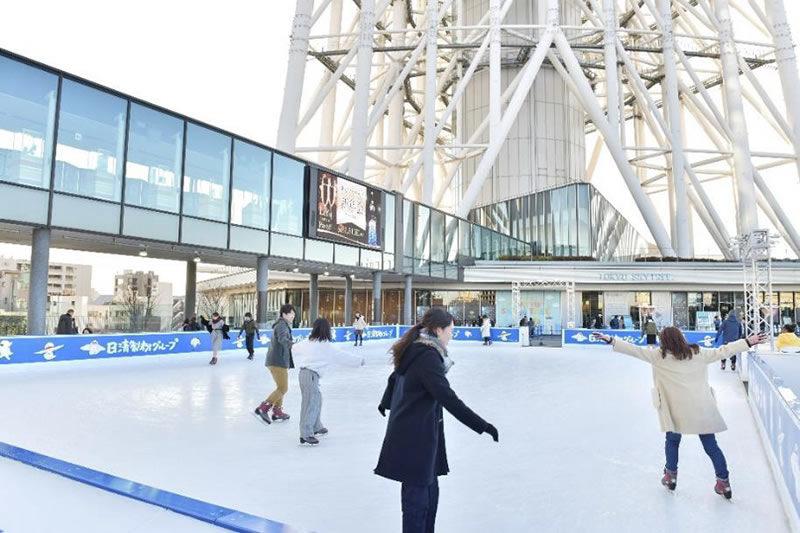 東京スカイツリータウンアイススケートリンク