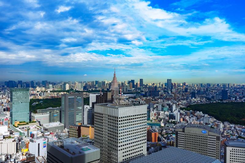 都庁展望台からの風景
