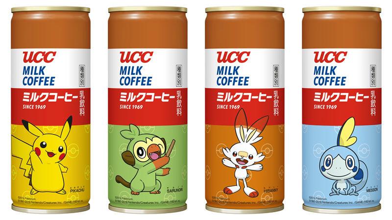 UCC ミルクコーヒー ポケモン缶