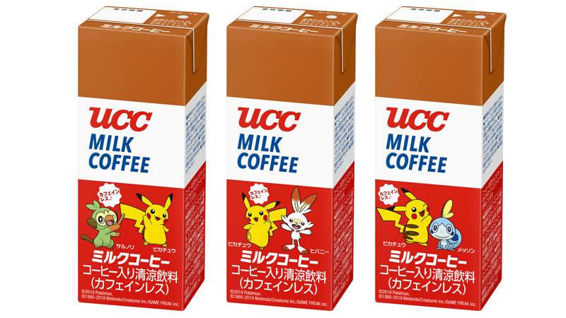 UCC ミルクコーヒー ポケモン AB200ml