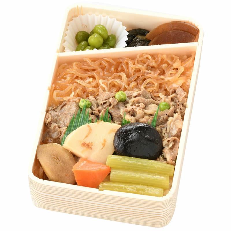奥羽本線 米沢駅「復刻版米沢牛肉すきやき弁当」