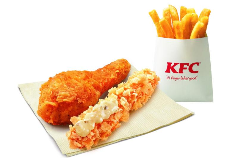 KFC えびぷりぷりフライセット