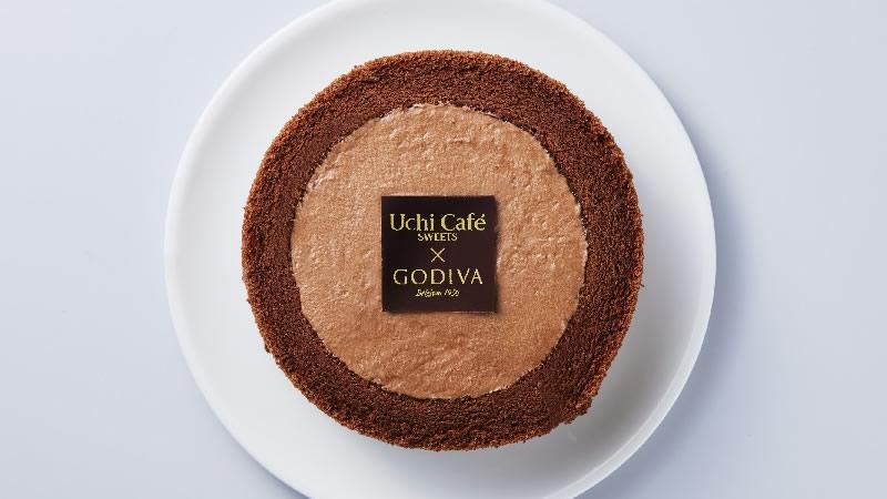 Uchi Café×GODIVA ショコラロールケーキ