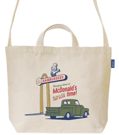 マクドナルド 福袋 トートバッグ