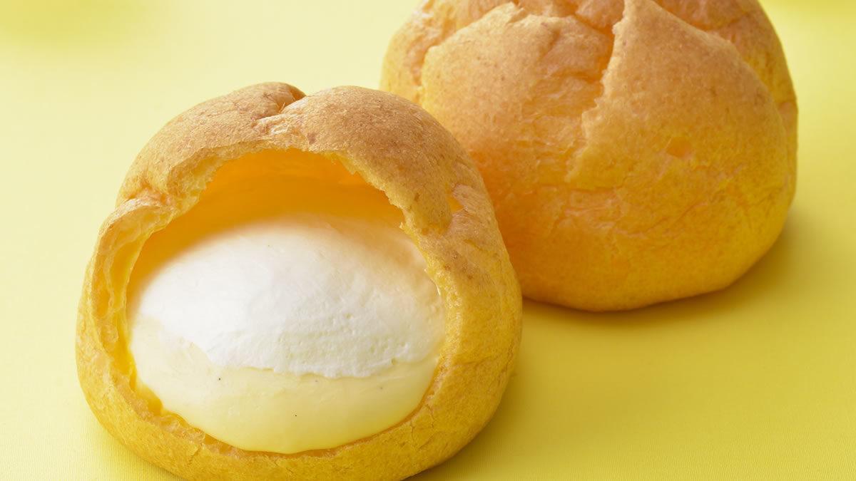 コージーコーナー ジャンボシュークリーム 瀬戸内レモン&チーズ