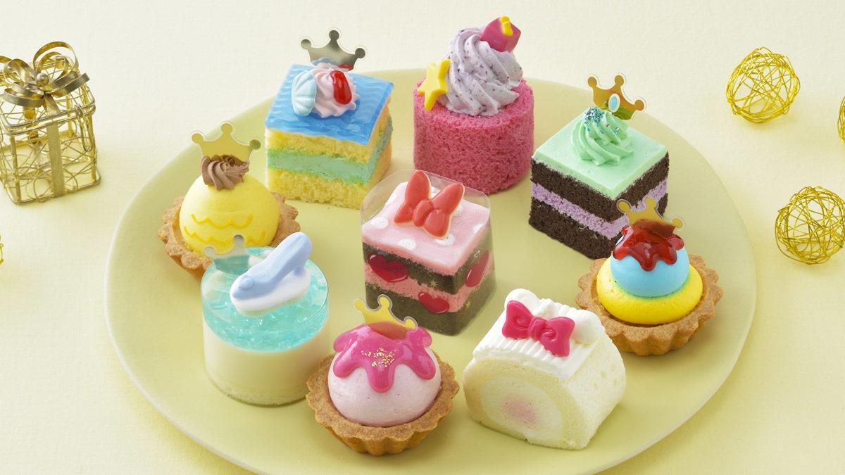 銀座コージーコーナー ひなまつりプチケーキセット ディズニーガールズコレクション