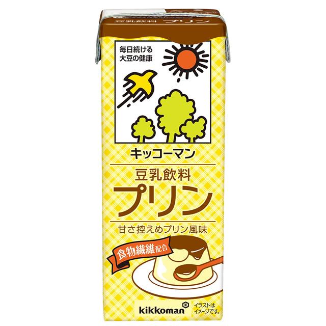 キッコーマン豆乳飲料 プリン