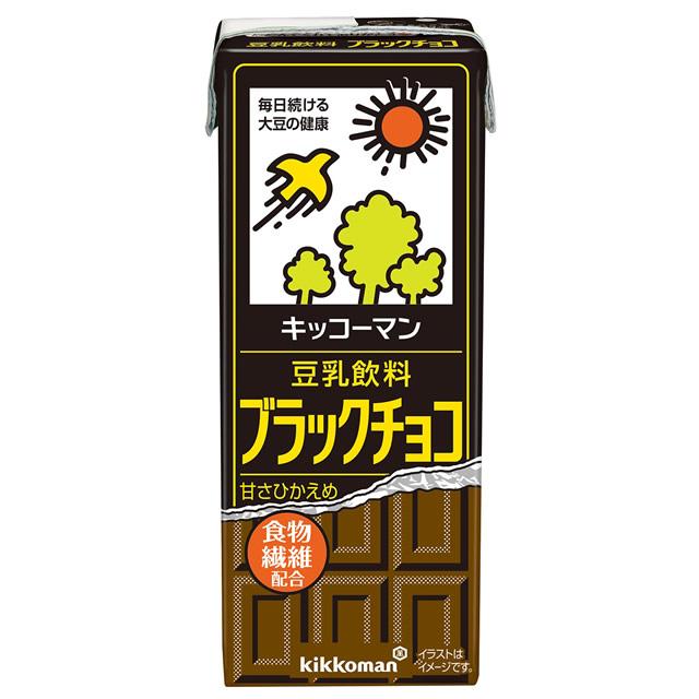 キッコーマン豆乳飲料 ブラックチョコ
