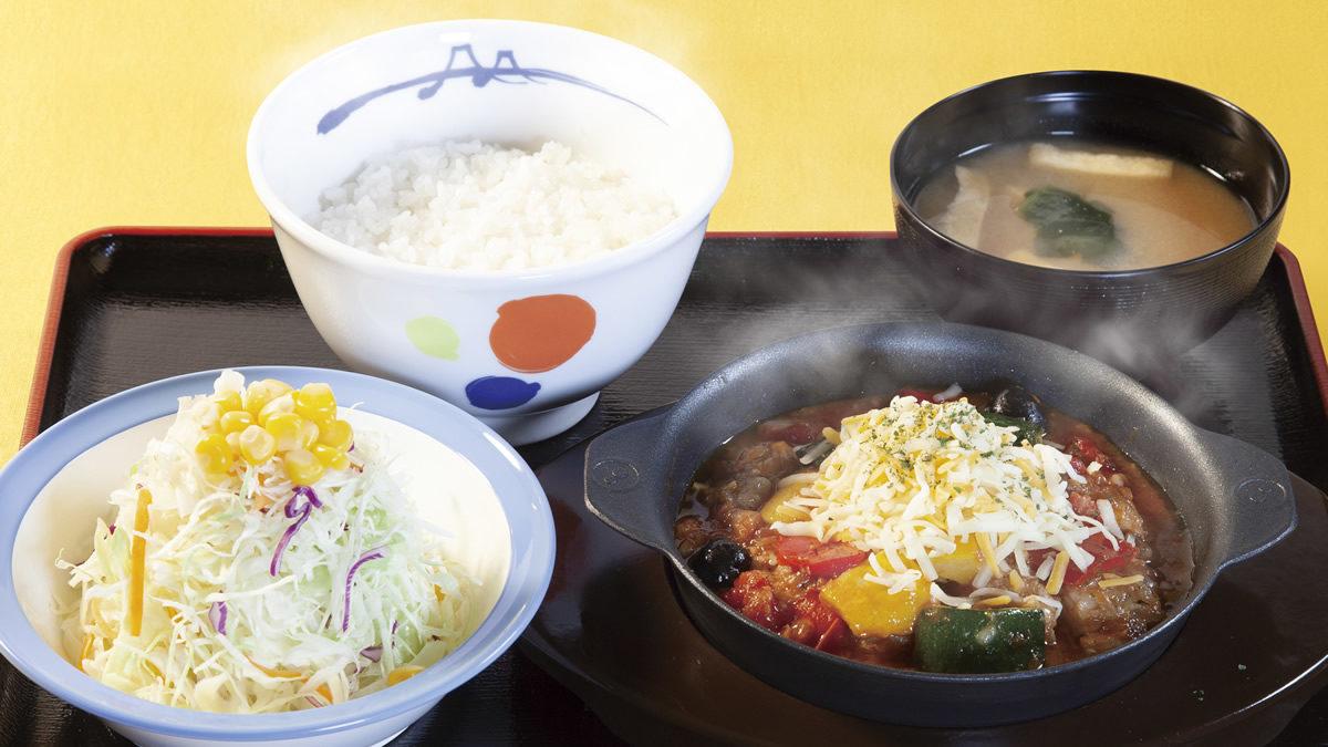 松屋 カチャトーラ定食
