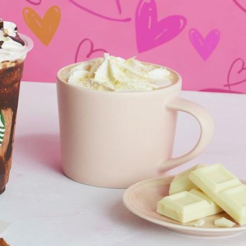 ホワイト チョコレート with ラテ