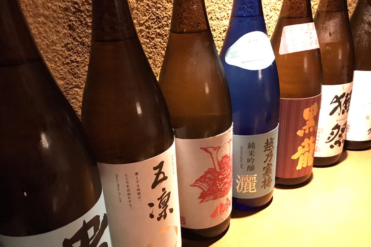 丸の内旬彩庵 日本酒飲み放題