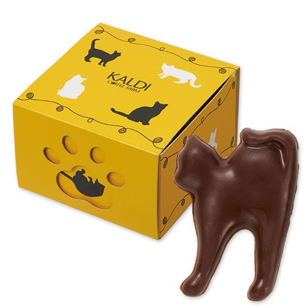 ネコ型チョコレート