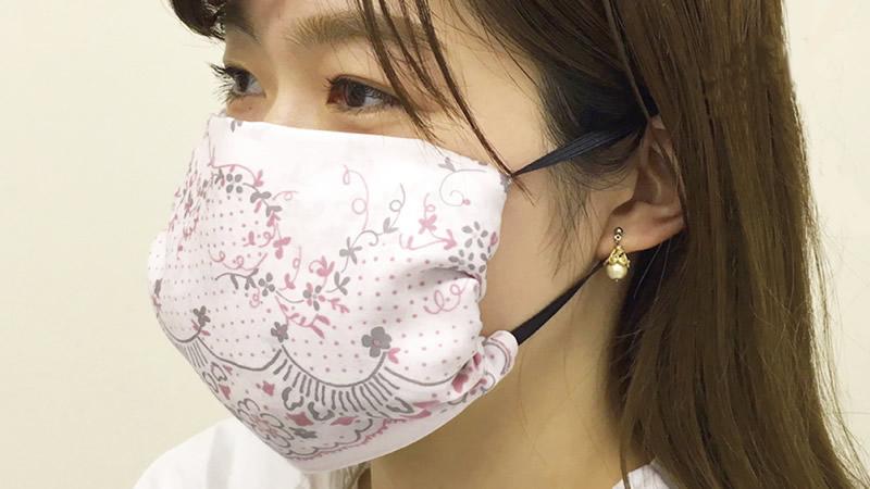 作り方 の ハンカチ マスク