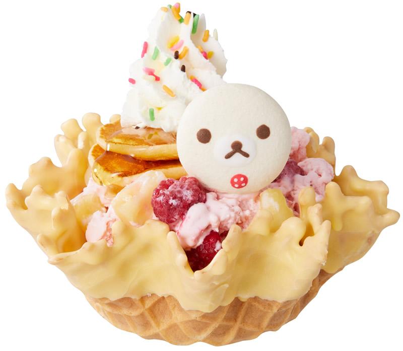 コールド・ストーン・クリーマリー コリラックマのパンケーキ オン アイス