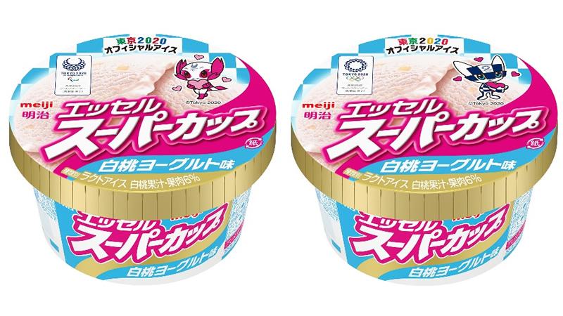 明治 エッセルスーパーカップ 白桃ヨーグルト味