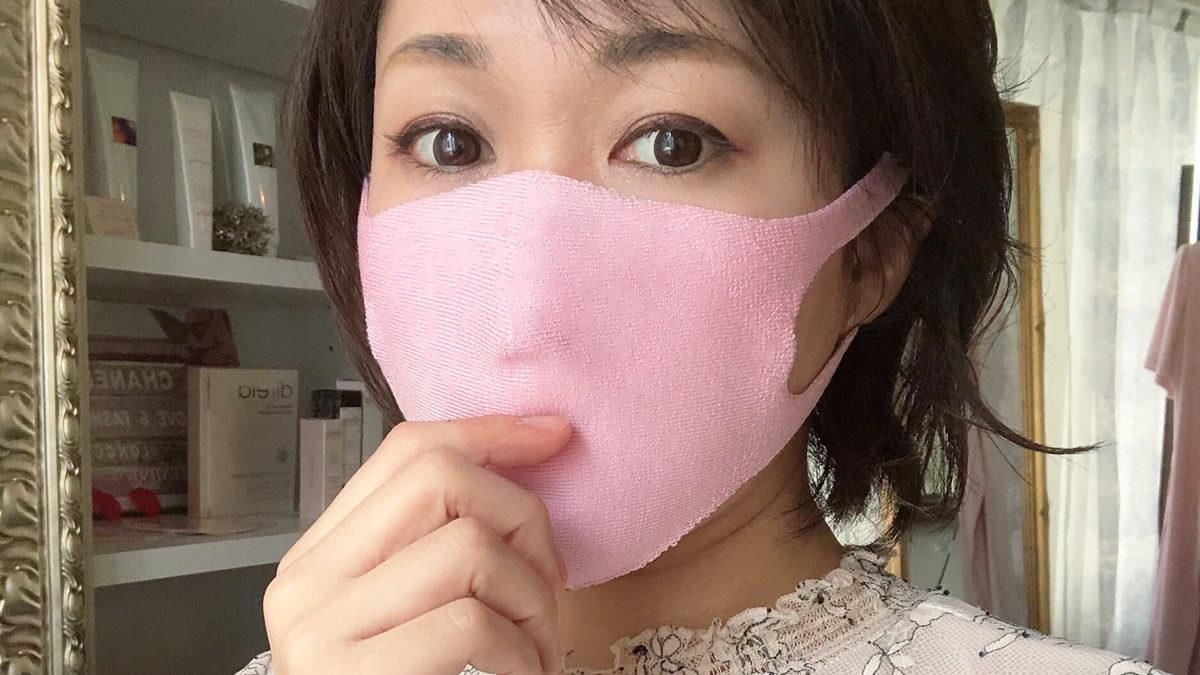 フクシン てぶくろ屋さんがつくったシルクプレーティング立体マスク