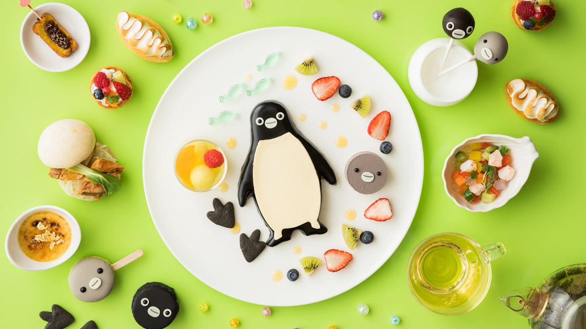 池袋ホテルメトロポリタン Suicaのペンギン アフタヌーンティー