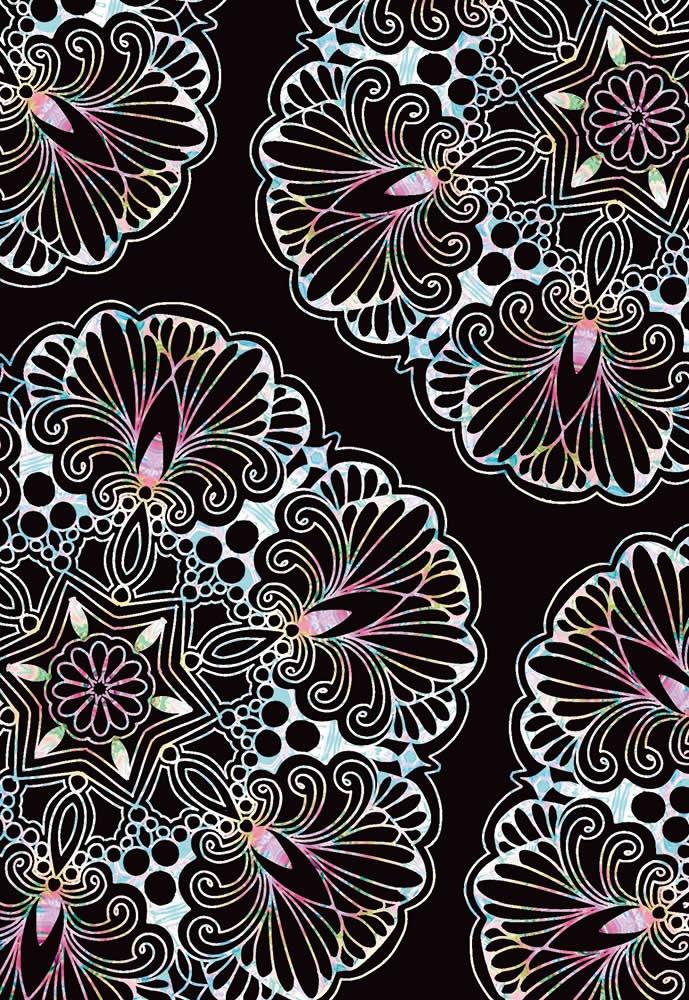 自律神経を整えるスクラッチアート 美しい曼荼羅