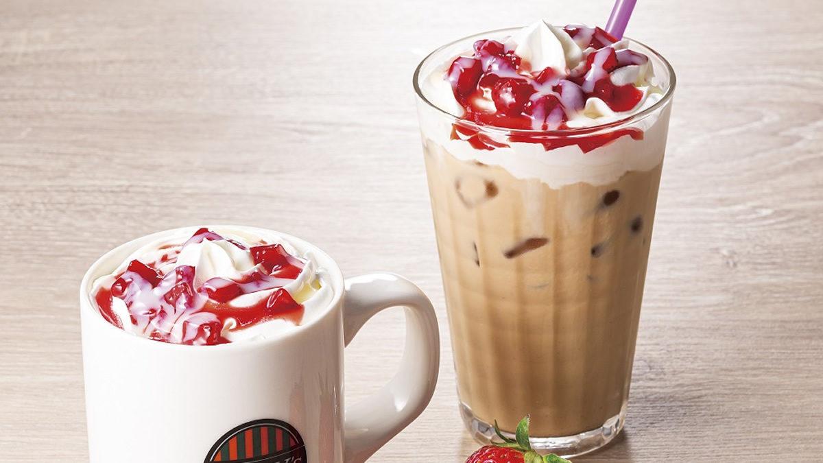 タリーズ いちごミルクカフェラテ