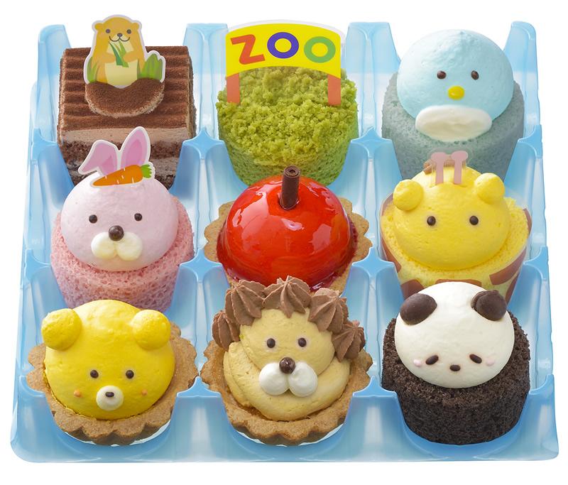 コージーコーナー こどもの日プチケーキセット わくわく動物園
