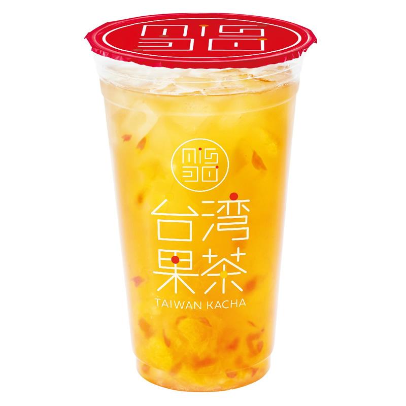 ミスド 台湾果茶 オレンジピンクグレープフルーツジャスミン