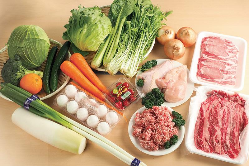 卸直売Bセット(肉+野菜)