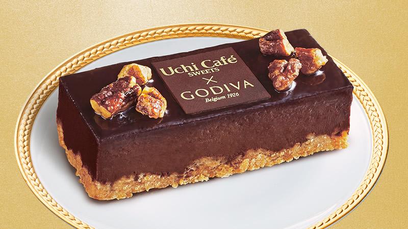 ローソン×ゴディバ ショコラケーキ