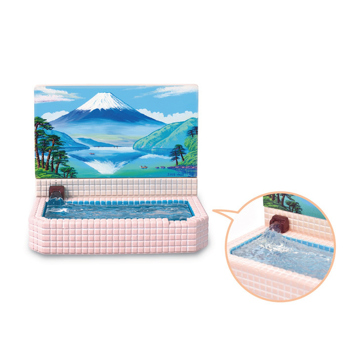 銭湯と銭湯絵(富士山)