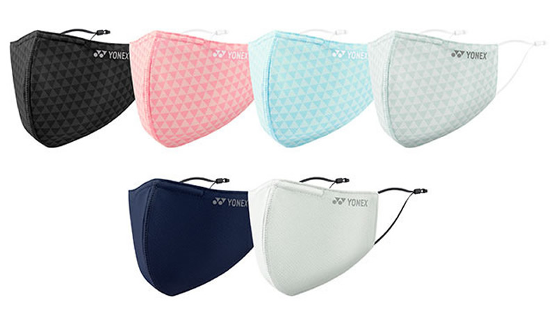 ヨネックス 新製品3D抗ウィルス加工マスク AC482