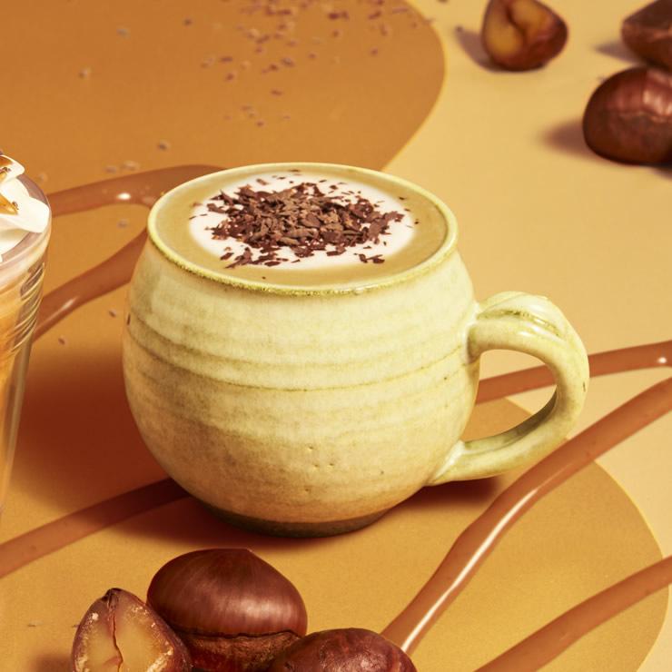 スタバ チョコレート マロン ラテ