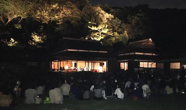 横浜三溪園「観月会」