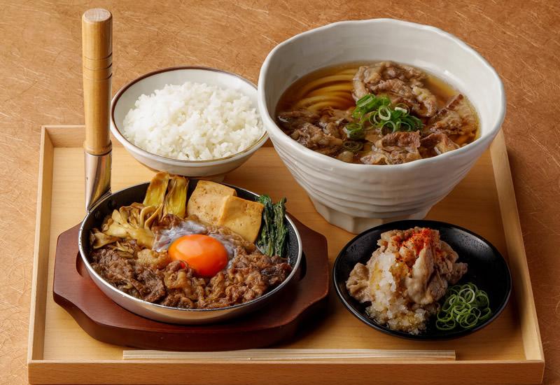 丸亀製麺 神戸牛づくし膳