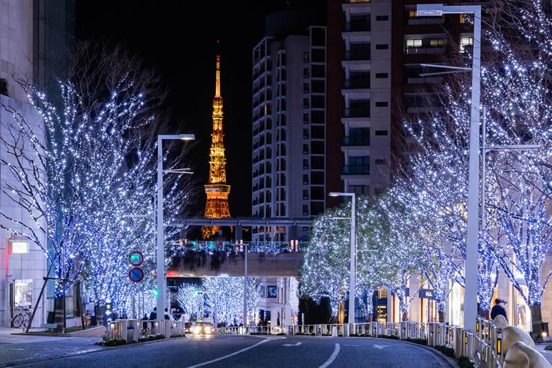 六本木ヒルズ けやき坂 クリスマス イルミネーション