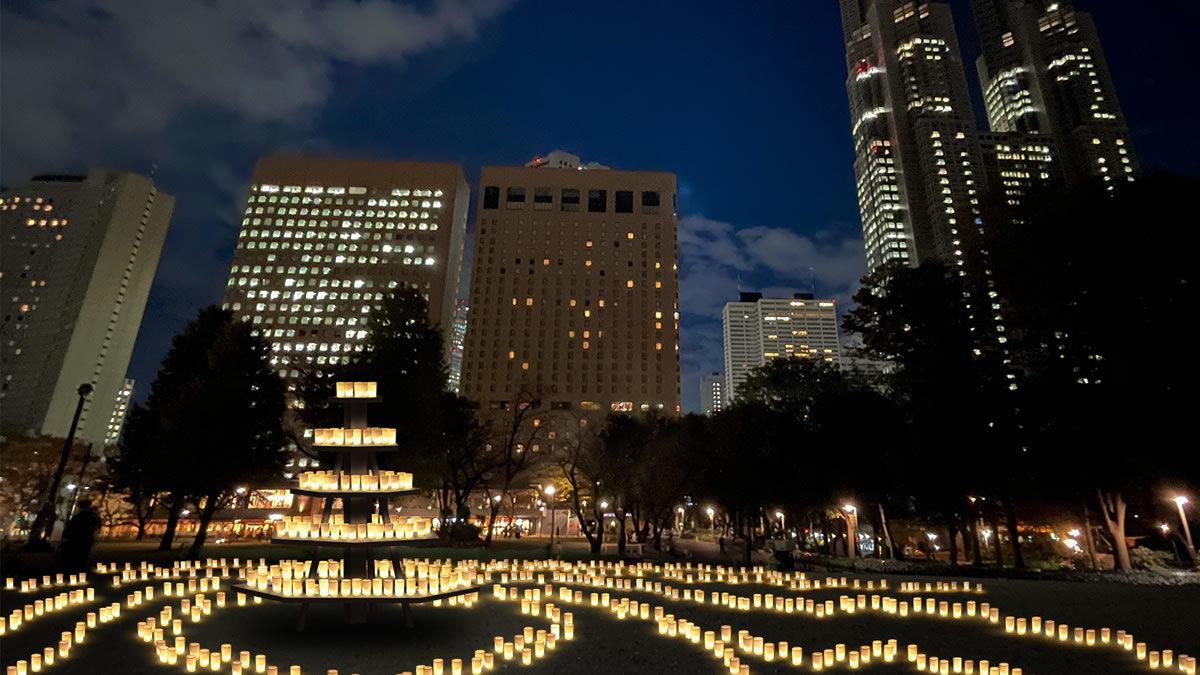 キャンドルナイト@新宿中央公園