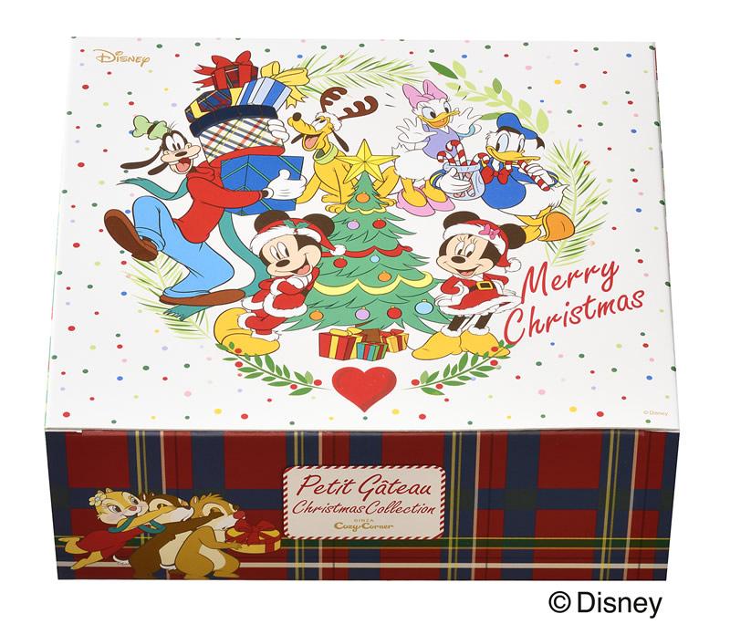 銀座コージーコーナー クリスマス ディズニー プチケーキセット