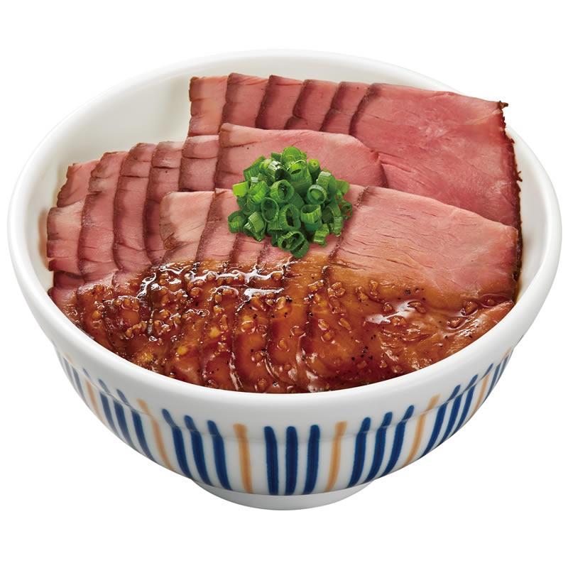 なか卯 ローストビーフ丼 大盛