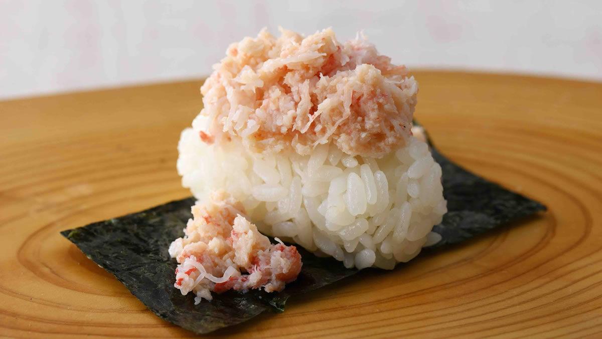 二ラックス かに寿司食べ放題