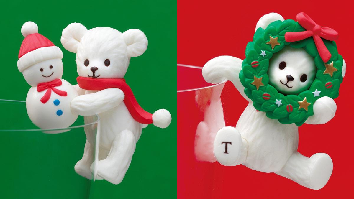 タリーズ ふちベアフル クリスマス