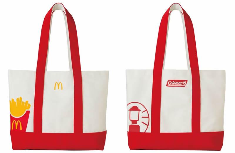 マクドナルド福袋 トートバッグ