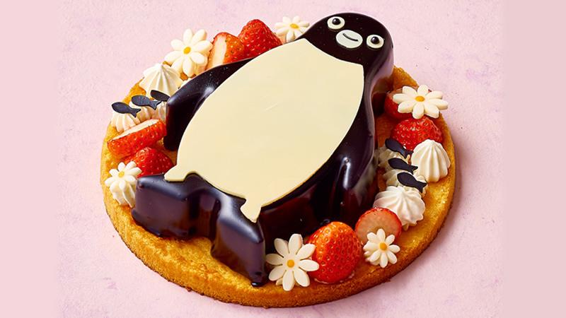 池袋ホテルメトロポリタン Suicaのペンギンケーキ ホワイトデー
