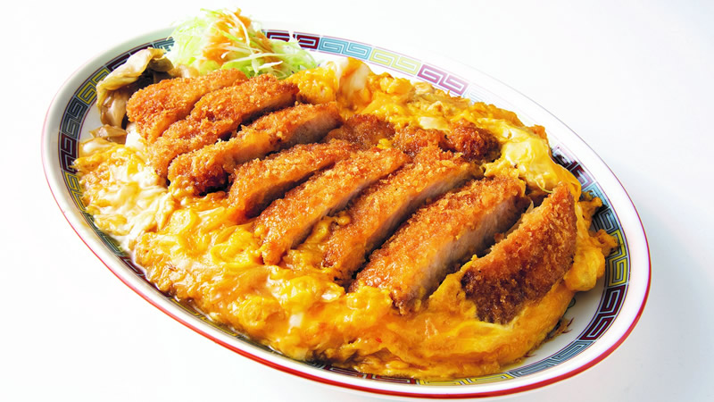 大阪王将 情熱カツ丼