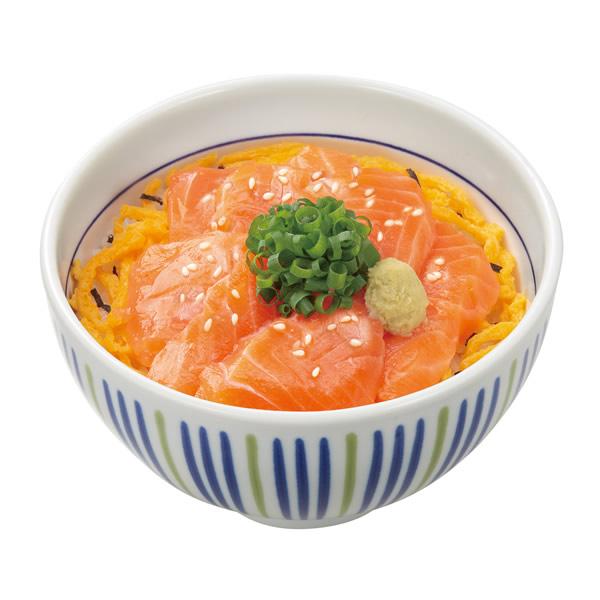 なか卯 サーモン丼 並盛