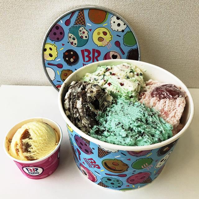 サーティワンアイスクリーム「スーパービッグカップ」