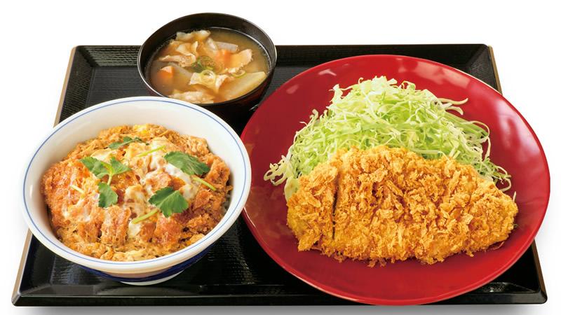 王道ロースカツ定食