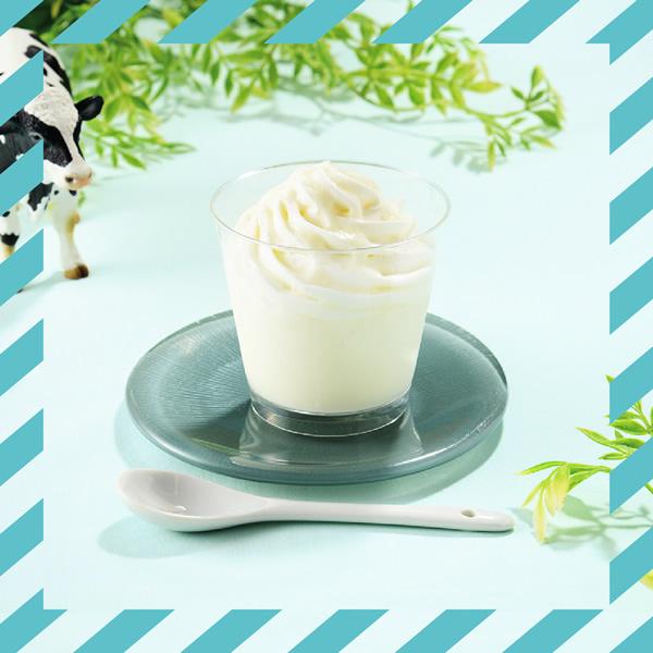 Uchi Café×生クリーム専門店Milk MILKパンナコッタ